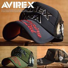 正規品 AVIREX メッシュキャップ 帽子。正規品 AVIREX メッシュキャップ 帽子 メンズ ロゴ刺繍 アップリケ 14370700【GAL】■05170419