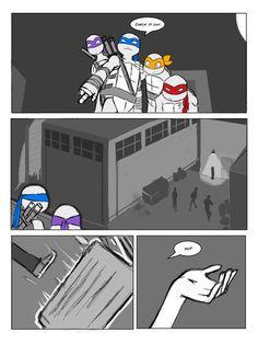TMNT fan comic: Walks like an Angel part 3 by ActionKiddy on deviantART