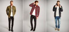 What's your favourite look? Choose between these 3 strong ones from JACK & JONES VINTAGE CLOTHING. #men #fashion #jackandjonesme