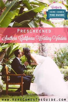 Recently engaged? Find pre-screened wedding vendors for your Southern California wedding on HereComesTheGuide.com. Photo by Epic Imagery.
