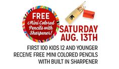 #freesamples #kmartfreesamples #kidsfreebies #freeminicoloredpencils #freesharpener #US