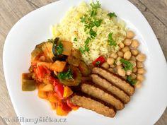 I takhle může vypadat zdravý oběd. Vegan talíř bohatý na bílkoviny a vlákninu.