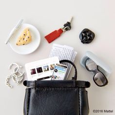 What's in your bag? These are some of my essentials! #barbie #barbiestyle