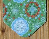 Kerst Labels - 25 stuks - 7 x 5 cm - 260 gram karton  (Label K1-8) - Cadeaulabel