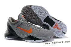 best website e416d 152df Air Foamposite Nike Zoom Kobe 7 Wolf Grey Total Orange Black White  Nike  Zoom Kobe 7 - This Nike Zoom Kobe 7 Wolf Grey Total Orange Black White  sports ...