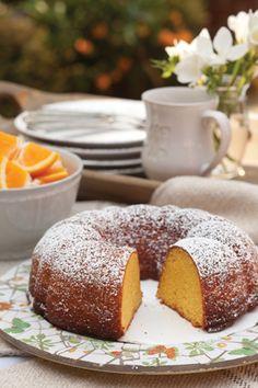 orange cake -easy!