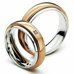 cincin perak lapis emas couple sepasang nikah CP-412