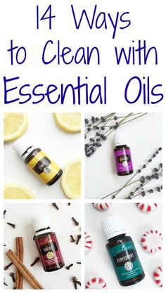 Love all these ways you can clean your home with essential oils. So great for eliminating toxic chemicals! #naturalcleaning #cleaning #essentialoils #cleaningrecipes