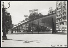 Place de Brouckère - De Brouckèreplein 1958 © Archief Stad Brussel