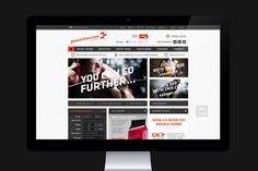GoNutrition Ecommerce website on desktop.