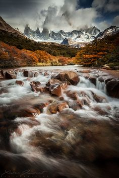 """Stepping onto a brand-new path is difficult, but not more difficult than remaining in a situation, which is not nurturing to the whole woman.""  ― Maya Angelou  [Mt Fitz Roy in Patagonia, Argentina.]"