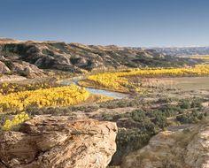 North Dakota BADLANDS--home to Theodore Roosevelt National Park