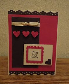 Indiana Inker - Love You Much Card - Stampin' Up!