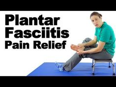 Plantar fasciitis treatment with massage, stretches, & exercises is great for pain relief. Plantar fasciitis is when tissue on the bottom of our feet get irr. Plantar Fasciitis Stretches, Plantar Fasciitis Treatment, Knee Strengthening Exercises, Foot Exercises, Rheumatoid Arthritis Treatment, Knee Arthritis, Fascia Stretching, How To Strengthen Knees, Legs