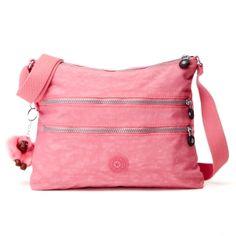 Kipling - Alvar cross-body travelbag - Like the pink!
