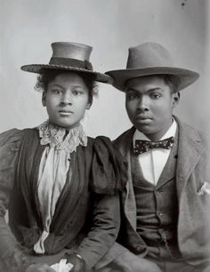 Photograph: Black Couple | 1902     Hugh Mangum Photographs Rare Book, Duke University