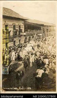 ERICH BART. Carnavales de Cali 1922 SANTIAGO DE CALI: Biblioteca Departamental Jorge Garces Borrero, . 14 X 9.