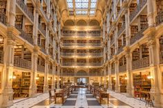 Historically libraries were a quiet place of contemplation and learning.Libraries today are transforming into centers of the community by offering concerts, community programs, historical displays and even fine art galleries. Some libraries are works of art themselves with displays of architectural