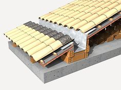 A Revolution In Building Pretty Interesting Wall & Facade Solution - Decor Units Detail Architecture, Bamboo Architecture, Building Design, Building A House, Shipping Container House Plans, Roof Detail, Roof Structure, Roof Design, Facade