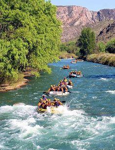 Rafting @ Mendoza River in Argentina