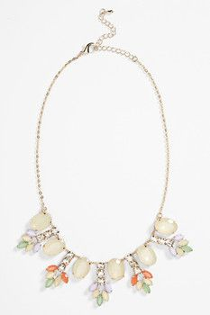 BP. Vintage Leaf Statement Necklace - Sponsored by Nordstrom Rack