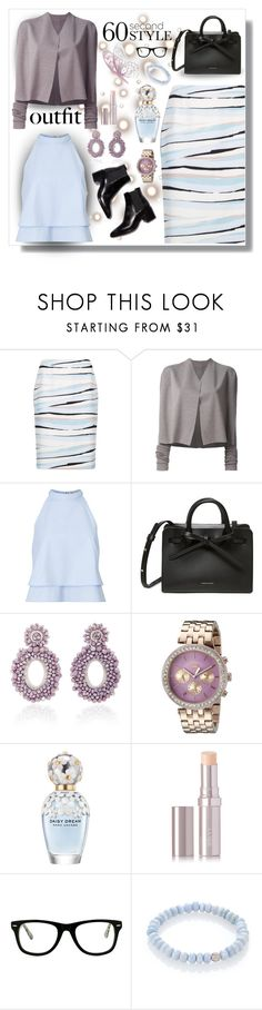 """60 Second Style: Job Interview 2"" by majezy ❤ liked on Polyvore featuring BOSS Hugo Boss, Rick Owens, Miss Selfridge, Bibi Marini, Juicy Couture, Marc Jacobs, La Mer, Muse and Sydney Evan"
