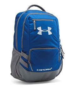 Under Armour Storm Hustle II Backpack Royal Graphite One Size Under Armour  Backpack 9171b5518d275