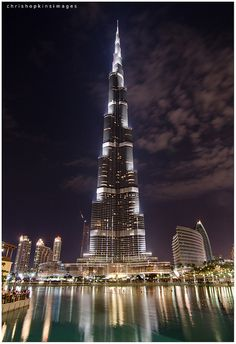 """Burj Khalifa, Dubai, United Arab Emirates.The world's tallest man-made structure is the 829.8 m (2,722 ft) tall .The Council on Tall Buildings and Urban Habitat, an organization that certifies buildings as the """"World's Tallest"""", recognizes a building only if at least fifty percent of its height is made up of floor plates containing habitable floor area.[1] Structures that do not meet this criterion, such as the CN Tower, are defined as """"towers""""."""