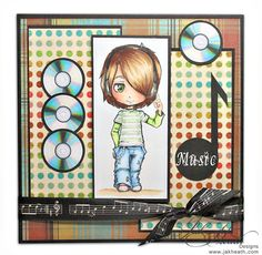 Max Digital stamp by Max for Spesch Designer Stamps