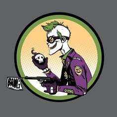 """Prank Guy"" by Fishmas is $10 today at ShirtPunch.com (09/18). #tshirt #TankGirl #TheJoker #Batman #Comics #DCcomics"