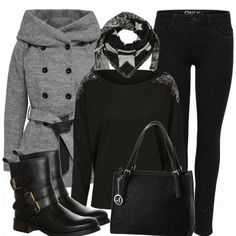 Herbst-Outfits: MainlyBlack bei FrauenOutfits.de