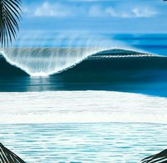 Hilton Alves surf art