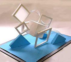 生徒作品|大橋美術研究所・美大受験予備校 Geometric Sculpture, Modern Sculpture, Sculpture Art, Toilet Paper Roll Art, Rolled Paper Art, Concept Models Architecture, Interior Architecture, Composition Art, Art Worksheets