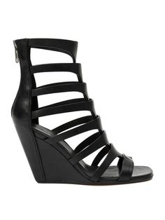 Shop Rick Owens gladiator wedge sandals in Hirshleifers from the world's best independent boutiques at farfetch.com. Shop 400 boutiques at one address.