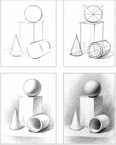 Zeichnen 40 geometric shape drawing ideas A short-cut to a smooth and healthy skin! Drawing Lessons, Basic Drawing, Drawing Techniques, Art Lessons, Basics Of Drawing, Square Drawing, Pencil Art Drawings, Drawing Sketches, Drawing Ideas