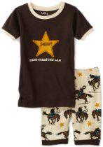 Hatley Little Boys' Short Sheriff Here Comes The Law Pajama Set Boys Sleepwear, Cotton Sleepwear, Boys Pajamas, Big Boys, Little Boys, Sheriff, Toddler Boys, Pajama Set, Baby Boy