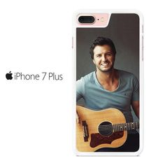 Luke Bryan With Guitar Iphone 7 Plus Case