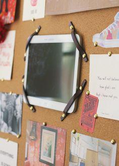 DIY tablet holder | Office Inspiration Board