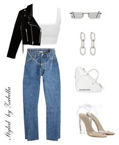 """""""Boss babe"""" by styledbyzabella ❤ liked on Polyvore featuring Vetements, Yeezy by Kanye West, Chanel, Balenciaga, Alexander Wang, The Kooples and Cartier"""