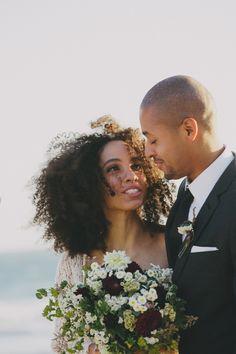 Real Bohemian Beach Wedding - Nikisha & Carl - The Bride's Cafe