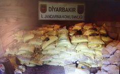 Diyarbakır'da facia son anda önlendi 20 ton amonyum nitrat ele geçirildi - Hürriyet