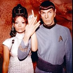 """Star Trek: T'Pring and Spock in """"Amok Time"""" May they Both Rest In Peace"""