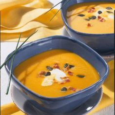 Pumpkin and Potato and Carrot Soup Recipe DELICIOUS - Our popular recipe for pumpkin and potato and carrot soup and over other free recipes LECKER - Pumpkin Recipes, Soup Recipes, Vegan Recipes, Dinner Recipes, Free Recipes, Benefits Of Potatoes, Carrot Soup, Pumpkin Soup, Popular Recipes