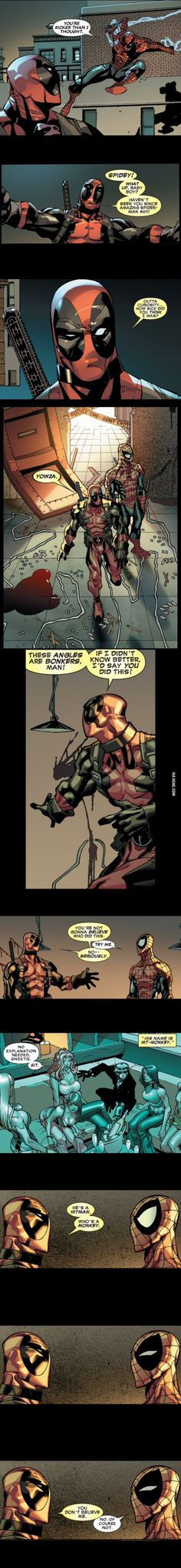 We need more Spidey/Deadpool