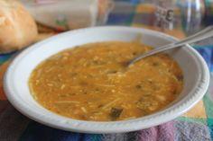 Zuppa bresciana con ceci, lenticchie, pomodoro, farina e altre spezie.  PER VOTARE QUESTA FOTO  http://www.dallapianta.it/blog/wp-content/plugins/wp-photocontest/viewimg.php?post_id=505_id=82