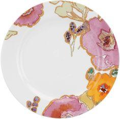 Lenox Floral Fusion Floral Dinner Plate - Set of 4 - Dinnerware at Hayneedle