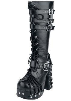 Charade - 206 - Botas de cordones por Demonia