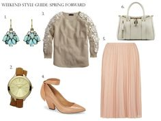 Weekend Style Guide: Spring Forward #weekendstyle #springtrends #springfashion