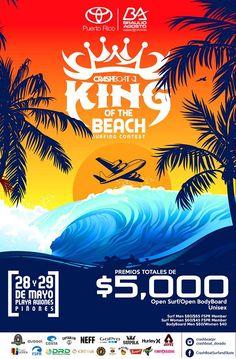 Crashboat King of the Beach: Aviones Beach #sondeaquipr #kingofthebeach #playaaviones #pinones #loiza