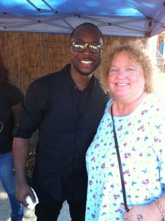 Really enjoyed J. White playin' the sax and meeting him after! — at Jazz At The Creek.